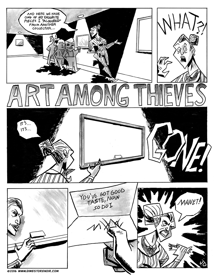 Art Among Thieves Page 1